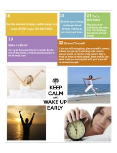 22 Ways to Wake up Earlier and Get More Done!3